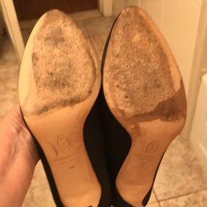 SJP by Sarah Jessica Parker Shoes - Sjp dyed black material heels size 40